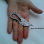 Fingermesser Damast Sammlerstück